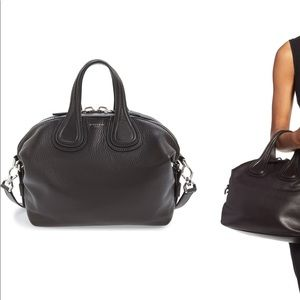 Givenchy:  'Small Nightingale' Leather Satchel